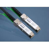 Buy cheap Direct Attach QSFP + Copper Cable Twinax 40GBASE-CR4 For Network from wholesalers