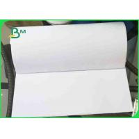 Buy cheap 60gsm White Uncoated Wood Free Offset Printing Paper Virgin Pulp Style from wholesalers