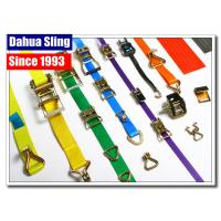 Buy cheap Stainless Steel Buckled Lorry Ratchet Straps , Motorbike Tie Down Straps Flexible from wholesalers