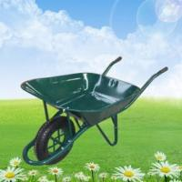 Buy cheap QIngdao product cheap and best sale 65L garden wheelbarrow WB6400 from wholesalers
