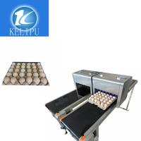 Intelligent Safe Egg Stamping Equipment , Graphic Logo Making Machine For Eggs
