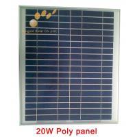 Buy cheap Poly Crystalline 20W 18V Solar Panel product