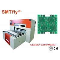Buy cheap 0.4mm Thickness PCB Automatic Scoring Machine With Electronic Control System from wholesalers