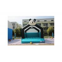 Buy cheap 0.55mm PVC Panda Inflatable Bounce House Moonwalks For Church Commercial Grade from wholesalers