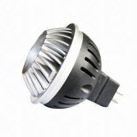 Buy cheap High-power 10 x 1W LED Ceiling Spotlight with >30,000 Hours Lifespan, Measures 50x52.5mm from wholesalers