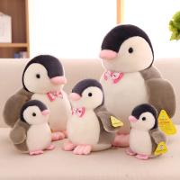 Buy cheap Customized Personalized Plush Toys Cute Penguin With Bow Tie , White and Black Color from Wholesalers
