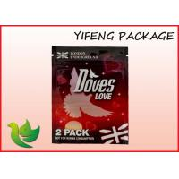 Buy cheap Waterproof Zipper Lock Herbal Incense Bags For Spice Packaging 1g 1.5g 2g 3g from wholesalers