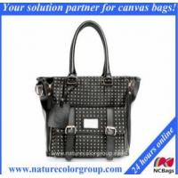 Buy cheap Fashion Lady Leather Handbags with Rivets from wholesalers