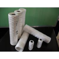 Buy cheap 10 length and 5um wire wound water filter element from wholesalers