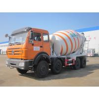Buy cheap Beiben 8X4 Self Loading Concrete Mixer Truck 12 Cubic Meter High Efficiency product