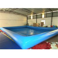 Buy cheap Kindergarten Baby Inflatable Water Games Big Inflatable Swimming Pool 10 X 8m from wholesalers