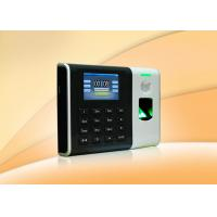 Buy cheap Biometric access control  fingerprint attendance management system With Web server 110 / 220V from wholesalers