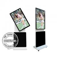 Buy cheap LCD Rotation Touch Screen Kiosk Digital Signage Totem , 65 Inch Touch Screen Advertising Player from wholesalers