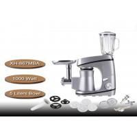 Buy cheap Non - Slip Silon Gel Feet Stand Mixer With Meat Grinder 5 Liters Bowl 220V 1000 Watt from wholesalers