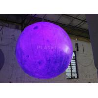Buy cheap Party Inflatable Lighting Decoration , Inflatable Moon Balloon OEM Available from wholesalers