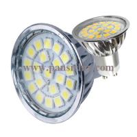 Buy cheap With Glass Cover High Brightness 21pcs Smd 3w Gu10 Led Lamp Spotlight Light from wholesalers
