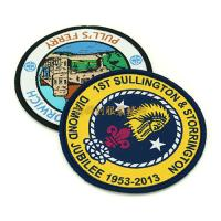 Buy cheap Washable Round Shaped Woven Decorative Patches For Clothes Jackets from wholesalers