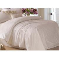 Buy cheap Jacquard Cotton Hotel Quality Bed Linen / Bed Sheet / Hotel Bed Linen With Customized Logo from wholesalers