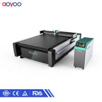 Buy cheap CNC oscillating knife paper carton sample honeycomb carton cutting machine for sale from wholesalers