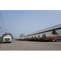 Buy cheap 3 axle 45000  liters flammable trailer fuel tank semi trailers  for sale from wholesalers