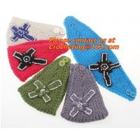 Buy cheap Embroidery bowknot Women's Knitted Head wrap Knitting wool crochet headband women cable from wholesalers