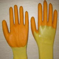 Buy cheap yellow PVC coated working gloves PG1511-14 from wholesalers