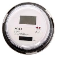 Buy cheap Small Round Electronic ANSI Socket Energy Meter with Single Phase 3 Wire from wholesalers