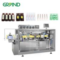 Buy cheap Olive Oil Plastic Ampoule Filling And Sealing Machine / Automatic Liquid Filling product