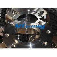 Buy cheap ASTM A564 Incoloy 800 / UNS N08800 Nickel Alloy Steel Slip On Flange from Wholesalers