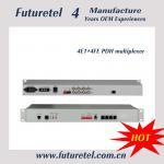 Buy cheap 4e1 to 4*10/100M ethenet  multi-sevice single mode pdh fiber optic multiplexer from wholesalers
