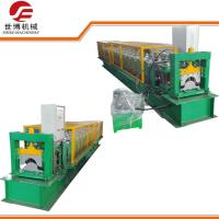 Buy cheap PLC Control Steel Stud Roll Forming Machine For Making Aluminum Metal Ridge Cap from wholesalers