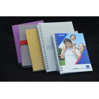 Buy cheap Plastic Cover Custom Paper Notebooks Gift Notepads Environment Protection from wholesalers