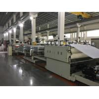 Buy cheap PE / PP / PC Hollow Grid Sheet Extrusion Line Making Machine Grey Machine Color from wholesalers