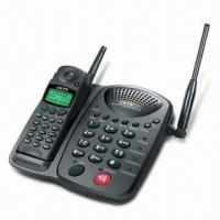 Buy cheap Long-range Cordless Phone with Pocket-size Handset, Multi-handsets from wholesalers