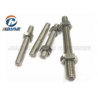 Buy cheap A4-50 A4-70 A4-80 316L 304 Stainless Steel Full Threaded Rod Stud Bar from wholesalers