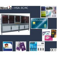 Buy cheap 1 person Operator visiting card cutting machine , 3 axes RFID card making cutting machines from wholesalers