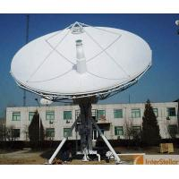 China 6.2m RX / TX Satellite Antenna, C Band Dish, Satellite Communication Solution on sale