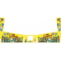 Buy cheap Yellow Home Pinball Machines , Simpsons Family Coin Op Arcade Machines from wholesalers
