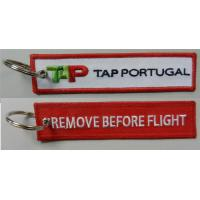 Buy cheap TAP Portugal Airlines Keychain Remove Before Flight Key Rings  Baggage Tag Luggage Flag Address ID tag from wholesalers