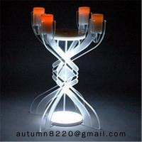 Buy cheap CH (23) votive glass candle holder with acrylic stand product