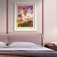 Buy cheap Stock Neuschwanstein Castle 3D Lenticular Living Room Painting Picture PET Printing from wholesalers