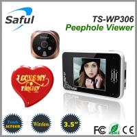Buy cheap 2014 newest 3.5'' touch screen 2.4GHz wireless digital door peephole viewer from wholesalers