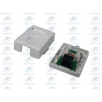 Buy cheap CL-OLUB-01 Dual color-coded   Wall Socket 1Port With UTP Cat5e PCB Module from wholesalers