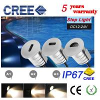 Buy cheap Recessed Stair Wall Lights DC12V Low Voltage  Under Stair Lighting Landscape Interior & Exterior Stairway Lighting Fixtu from wholesalers