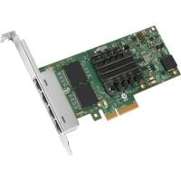 Buy cheap INTEL I350-T4 Quad Port Server Adapter10 / 100 / 1000 Mbps, PCIe x4, Full Heigt from wholesalers