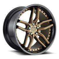 Buy cheap 20 21 22 inch forged 2 piece alloy wheel 5*130,5*114.3 custom rims from wholesalers