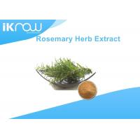 Buy cheap Rosemary Powdered Herbal Extracts For Health Raw Material 5%-98% Assay from wholesalers