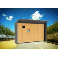 Buy cheap Keyless Electronic Parcel Delivery Lockers With Different Sizes Of Lockers For University from wholesalers
