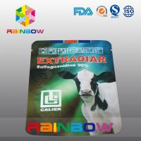 Buy cheap Aluminum Foil Pet Food Pouch Dairy Cow Stand Up Food Packaging from wholesalers