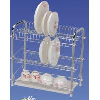 Buy cheap 3 Tier Dish Wire Kitchen Storage Racks with Tube Φ 13MM JP-903C from wholesalers
